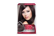 Бои за коса и оцветяващи продукти » Боя за коса Rubelia Fashion Color, 03 Dark Brown