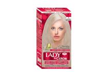 Бои за коса и оцветяващи продукти » Боя за коса Lady in Color Pro, 1 Silver Blonde