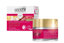 Козметика против бръчки и стареене на кожата » Нощен крем Lavera Regenerating Night Cream Cranberry
