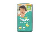 Бебешки пелени » Пелени Pampers Active Baby Maxi Plus, 62-Pack