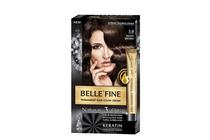 Бои за коса и оцветяващи продукти » Боя за коса Belle'Fine, 3.0 Velvet Brown