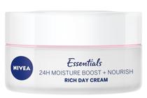 Дневни кремове за лице » Дневен крем Nivea Essentials 24H Moisture Boost + Nourish Day Cream SPF 15
