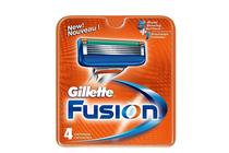 Ножчета и аксесоари за бръснене » Ножчета Gillette Fusion, 4-Pack