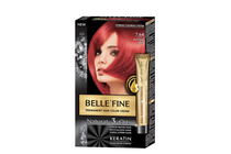 Бои за коса и оцветяващи продукти » Боя за коса Belle'Fine, 7.64 Intense Red