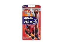 Ножчета и аксесоари за бръснене » Самобръсначка Gillette Blue 3 Pride, 6-Pack