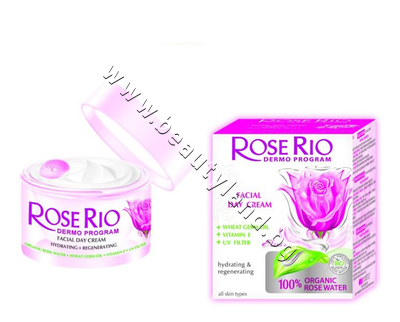 RR-4601067 Дневен крем Rose Rio Facial Day Cream