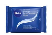 Козметика за почистване на лице » Почистващи мокри кърпички Nivea Creme Care Facial