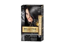 Бои за коса и оцветяващи продукти » Боя за коса Belle'Fine, 1.0 Ebony Black
