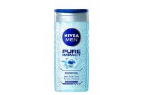 Душ гелове за мъже » Душ гел Nivea Men Pure Impact Shower Gel, 250 ml
