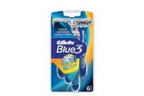 Ножчета и аксесоари за бръснене » Самобръсначка Gillette Blue 3, 6-Pack