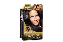 Бои за коса и оцветяващи продукти » Боя за коса Rubelia Premium Fashion, 02 Blue Black
