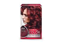 Бои за коса и оцветяващи продукти » Боя за коса Rubelia Fashion Color, 4.6 Intensive Ruby Red