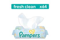 Мокри кърпички за бебета и деца » Мокри кърпички Pampers Baby Fresh Clean