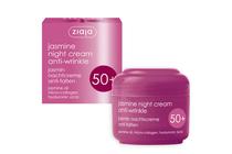 Козметика против бръчки и стареене на кожата » Нощен крем Ziaja Jasmine Night Cream Anti-wrinkle