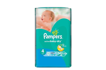 Бебешки пелени » Пелени Pampers Active Baby Dry Maxi, 13-Pack