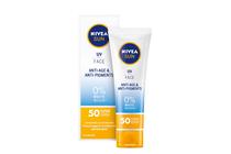 Слънцезащитна козметика за лице » Крем Nivea Sun UV Face Q10 Anti-Age & Anti-Pigments SPF 50