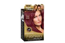 Бои за коса и оцветяващи продукти » Боя за коса Rubelia Premium Fashion, 4.6 Intensive Ruby Red