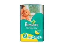 Бебешки пелени » Пелени Pampers New Baby Dry Mini, 66-Pack