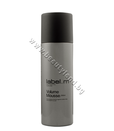 LM-12 Пяна за коса label.m Volume Mousse
