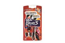 Ножчета и аксесоари за бръснене » Самобръсначка Gillette Blue 3 Pride, 3-Pack