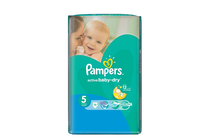 Бебешки пелени » Пелени Pampers Active Baby Junior, 11-Pack