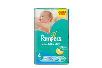 Бебешки пелени » Пелени Pampers Active Baby Maxi, 70-Pack
