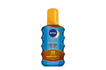 Козметика за защита от слънце » Олио Nivea Sun Protect & Bronze Oil SPF 20