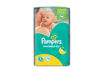 Бебешки пелени » Пелени Pampers New Baby Mini, 76-Pack