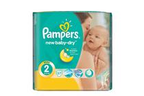 Бебешки пелени » Пелени Pampers New Baby Dry Mini, 22-Pack
