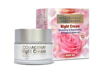 Нощни кремове за лице » Нощен крем Collagena Rose Natural Night Cream
