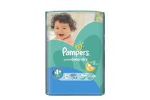 Бебешки пелени » Пелени Pampers Active Baby Maxi Plus, 16-Pack