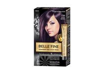 Бои за коса и оцветяващи продукти » Боя за коса Belle'Fine, 3.66 Violet Brown