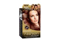 Бои за коса и оцветяващи продукти » Боя за коса Rubelia Premium Fashion, 5.5 Dark Mahogany Brown