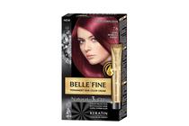 Бои за коса и оцветяващи продукти » Боя за коса Belle'Fine, 7.6 Dark Morello Cherry