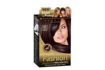 Бои за коса и оцветяващи продукти » Боя за коса Rubelia Premium Fashion, 03 Dark Brown