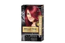 Бои за коса и оцветяващи продукти » Боя за коса Belle'Fine, 7.65 Ruby Red