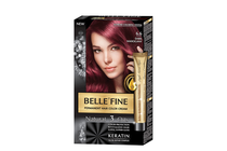 Бои за коса и оцветяващи продукти » Боя за коса Belle'Fine, 6.6 Dark Mahogany