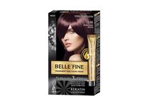 Бои за коса и оцветяващи продукти » Боя за коса Belle'Fine, 5.66 Burgundy Blush