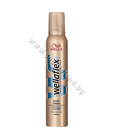 WE-3000073 Пяна за коса Wellaflex Extra Strong
