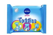 Мокри кърпички за бебета и деца » Мокри кърпички Nivea Baby Toddies, 60-Pack