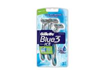 Ножчета и аксесоари за бръснене » Самобръсначка Gillette Blue 3 Ice, 3-Pack
