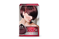 Бои за коса и оцветяващи продукти » Боя за коса Rubelia Fashion Color, 3.6 Ruby Red