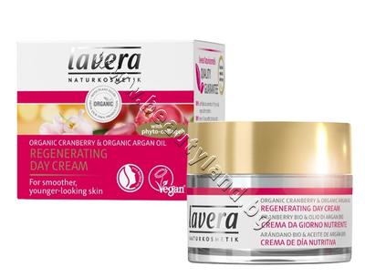LA-106543 Дневен крем Lavera Cranberry & Argan Rich Day Cream