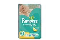 Бебешки пелени » Пелени Pampers New Baby Mini, 80-Pack