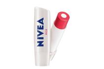 Балсами и стикове за устни » Балсам за устни Nivea Care & Colour Червен