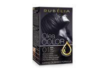 Бои за коса и оцветяващи продукти » Боя за коса Rubelia Olea Color, 01 Black