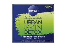Нощни кремове за лице » Нощен крем Nivea Essentials Urban Skin Defence + 48H Moisture Boost
