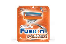 Ножчета и аксесоари за бръснене » Ножчета Gillette Fusion Power, 4-Pack