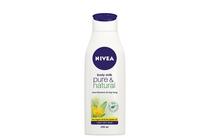 Лосиони, масла, кремове за тяло » Мляко Nivea Pure & Natural Body Milk